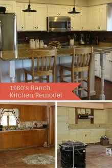 1960's Ranch Kitchen Makeover
