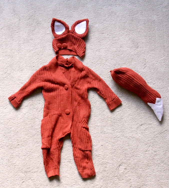 Diy Infant Fox Costume My Diy Nest